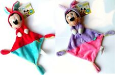 Posh Paws Disney Baby Minnie Mickey Mouse 0 Months + Soft Plush Snuggle Blanket