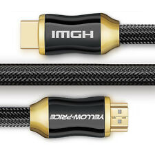 Premium Ultra HD HDMI Cable v2.0 Super Speed+ Ethernet LCD HDTV 2160p 4K 3D GOLD