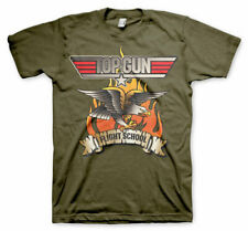 Officially Licensed Top Gun- Flying Eagle Men's T-Shirt S-XXL Sizes