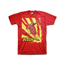 Officially Licensed The Flash Jumping Men's T-Shirt S-XXL Sizes