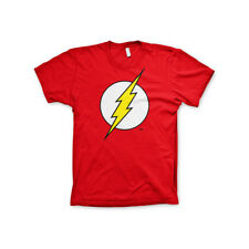 Officially Licensed The Flash Emblem Men's T-Shirt S-XXL Sizes