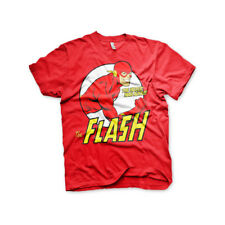 Officially Licensed The Flash- Fastest Man Alive Men's T-Shirt S-XXL Sizes