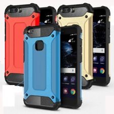 Rugged Shockproof Armor Hybrid Rubber Hard Case Cover For Huawei P8/P9/P10 Lite