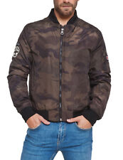 Lonsdale Chaqueta Bomber Para Hombre Air Force Camuflaje