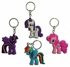 MY LITTLE PONY Key Chain Keyrings Key Ring Rubber Pony Party Bag Filler Ideas