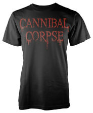 CANNIBAL CORPSE 'Dripping Logo' T-SHIRT - Nuevo y Oficial
