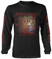 CANNIBAL CORPSE 'Rojo Before Negro 'Long Sleeve Shirt - Nuevo y Oficial