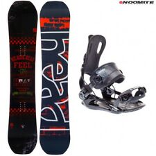 Set tavola snowboard head course 150 153 e attachi fastec