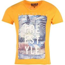 Tee Shirt Jaune Extrem Homme Crossby