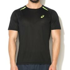 Tee shirt Noir Resolution Top Tennis Homme Asics