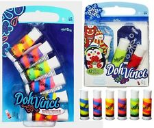 Play-Doh Vinci Gift Tag Kit Doh Vinci Blendables 6 Refill Tubes Deco Pop HASBRO