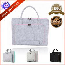 Felt Universal Laptop Bag Carrying Case Portable Handlebag With A Tablet Pouch