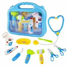 Christmas Holiday Kid Gifts Dr Doctor Medical Kit Playset Pretend Play Toys Educ
