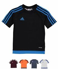 SPORTIVO adidas 3 Stripe Estro T-shirt Junior Boys Black/White