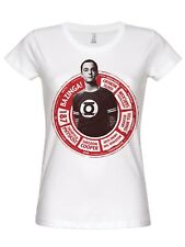 THE BIG BANG THEORY SHELDON Círculo Camiseta (Blanco)