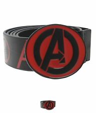 MODA Marvel Avengers Belt Mens Black/Red