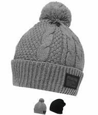 MODA Firetrap Cable Hat Sn81 Black