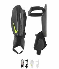 MODA Nike Attack Protegga Shin Guards Uomo Black/Volt