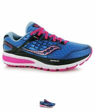 BRAND Saucony Triumph ISO 2 Ladies Running Shoes Blue/Pink