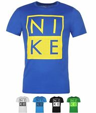 BRAND Nike Box JDI QTT T Shirt Mens Blue
