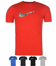 SPORT Nike Swoosh Just Do It Quote T Shirt Mens Navy