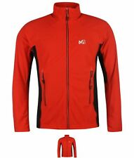 OFFERTA Millet Vector Grid Pile Giacca Uomo Red/Black