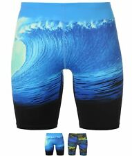 SPORTIVO adidas Infinitex Parley Swimming Jammers Mens Shock Blue/Gree