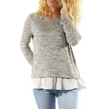 Pull Pepit Gris Femme Teddy Smith