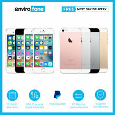 Apple iPhone SE 16GB 64GB Unlocked Sim Free Refurbished Smartphone