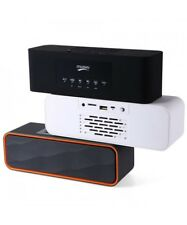 ALTAVOZ PORTATIL CON BLUETOOTH INALAMBRICO USB MICRO SD RADIO ALTAVOCES BATERIA