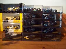CHOICE OF VARIOUS 1/43 ONYX MODELS FROM MINARDI AND PACIFIC F1 TEAMS