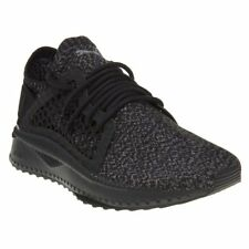 New Mens Puma Black TSUGI NETFIT evoKNIT Textile Trainers Running Style Lace Up