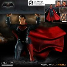 Deluxe Mezco One:12 Collective Superman DC 1/12th Scale Action Figure DOJ NEW