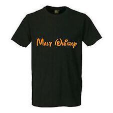 "Divertente T-Shirt "" Malt Whisky "" ALCOL PARTY FESTA REGALO COMPLEANNO S-5XL"