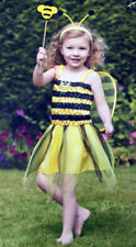 GIRLS TODDLER BEE PRINCESS COSTUME FANCY BOOK DAY DRESS TODDLER COMPLETE OUTFIT