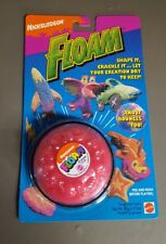 Vintage Sealed 1994 Nickelodeon Floam by Mattel Pink, Magenta FIRM PRICE!