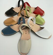 avarcas menorquinas piel,spanish leather sandals .