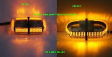 24 and 240 LED Recovery Emergency mag mount strobe light Tractor Van Car roof
