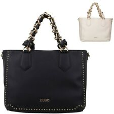 Borsa shopping Liu Jo Lovely con borchie A18020 E0010