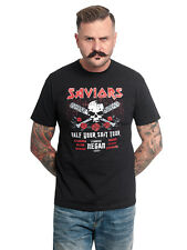 The Walking Dead saviors tour T-Shirt Schwarz
