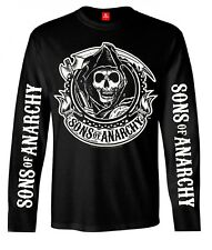 Sons Of Anarchy Reaper Logo Longsleeve MALE BLACK