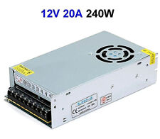 12V 20A 24V 10A 240W Universal Regulated Switching Power Supply Adapter Driver