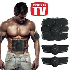 Abdominal Muscle Training Stimulator Toning EMS Belt Body Gym Fitness Gear ABS