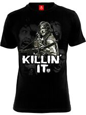 The Walking Dead Killin It DE HOMBRE CAMISETA BLACK