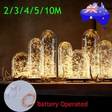 10M 100LED Copper Wire Xmas Wedding String Fairy Light Lamp Battery Operated kI