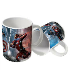Superhero Design Custom Printed Gift Ceramic Tea/Coffee Mug Cup - 0074