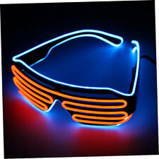 Glow LED Glasses Light Up Shades Flashing Rave Festival Party Glasses New xu