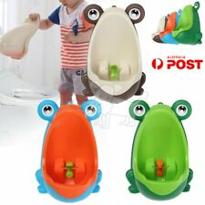 Kids Baby Toddler Boy Frog Potty Urinal Pee Toilet Travel Home Training Trainer~