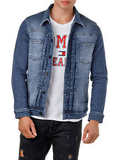 EightyFive EF3660 Herren Denim Jeans Jacke Basic Blau S-XL