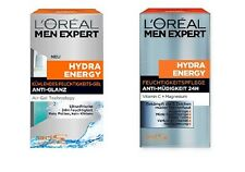 ( 23,80€/ 100ml) 50ml Loreal men expert anti brillo / FATIGA 24H HYDRA Energy